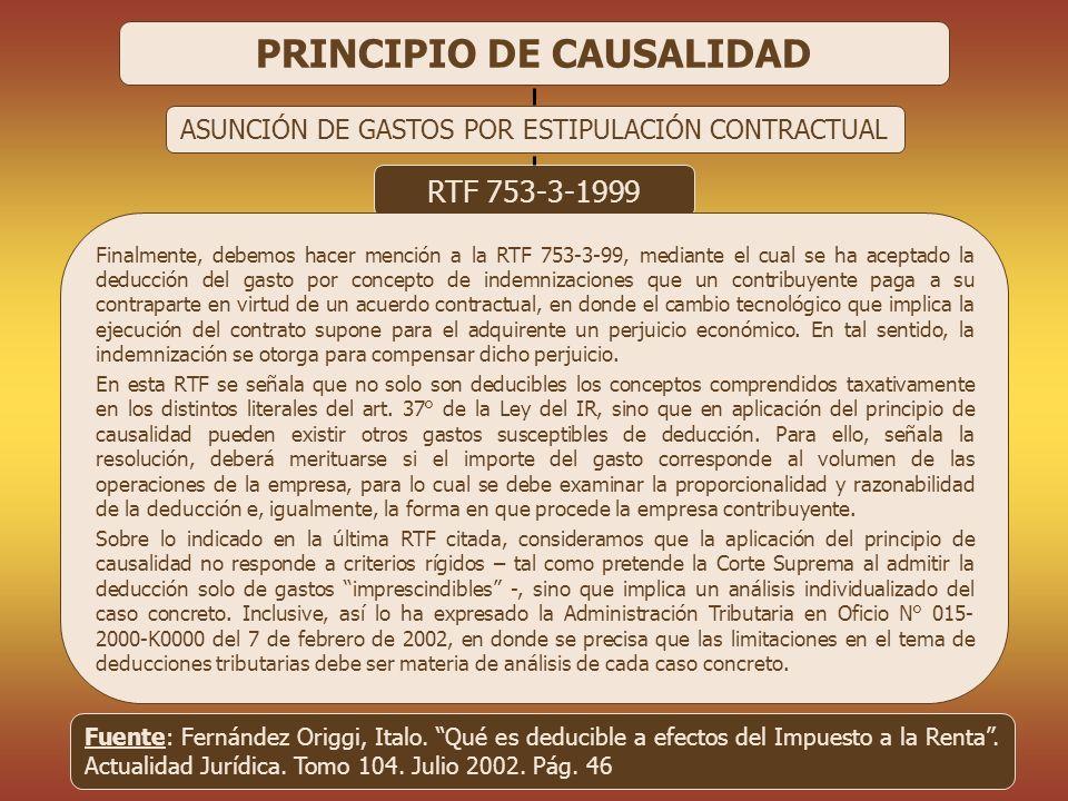 PRINCIPIO DE CAUSALIDAD CPC 9301 - RAUL RAMIREZ RAMIREZ