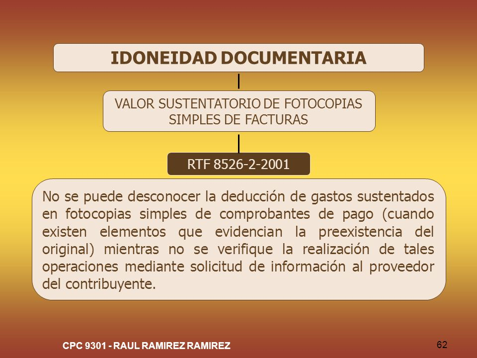 IDONEIDAD DOCUMENTARIA