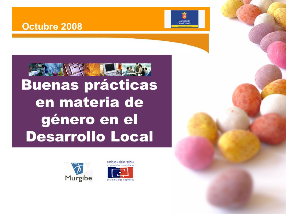 Buenas prácticas en materia de género en el Desarrollo Local