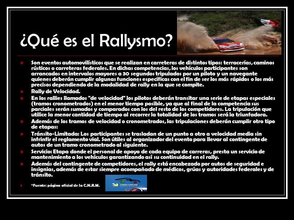 ¿Qué es el Rallysmo