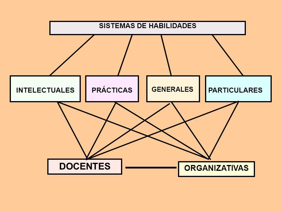 SISTEMAS DE HABILIDADES