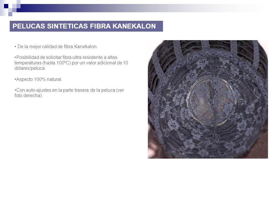 PELUCAS SINTETICAS FIBRA KANEKALON