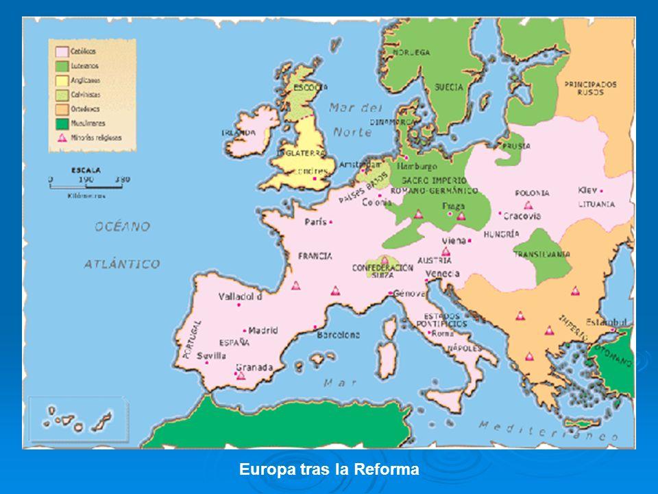 Europa tras la Reforma