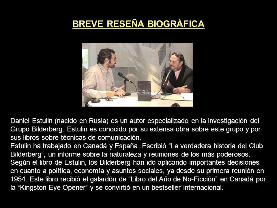 BREVE RESEÑA BIOGRÁFICA