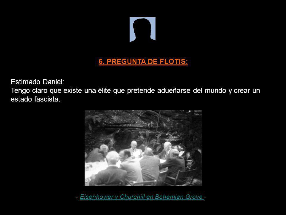 6. PREGUNTA DE FLOTIS: Estimado Daniel: