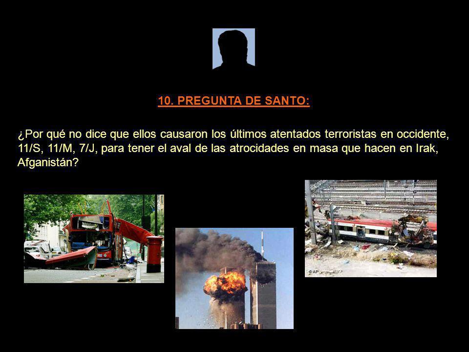 10. PREGUNTA DE SANTO: