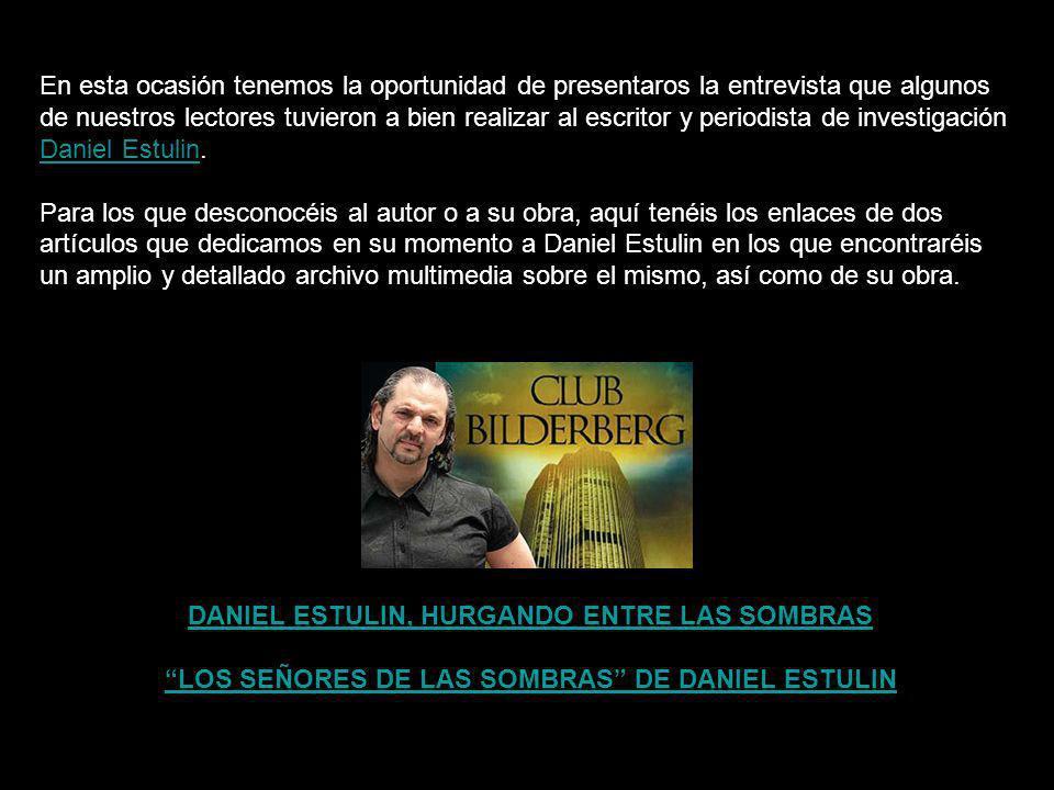 LOS SEÑORES DE LAS SOMBRAS DE DANIEL ESTULIN