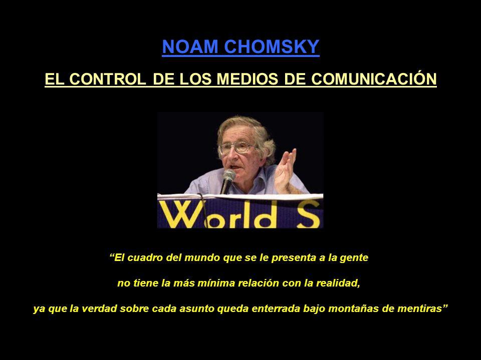 EL CONTROL DE LOS MEDIOS DE COMUNICACIÓN