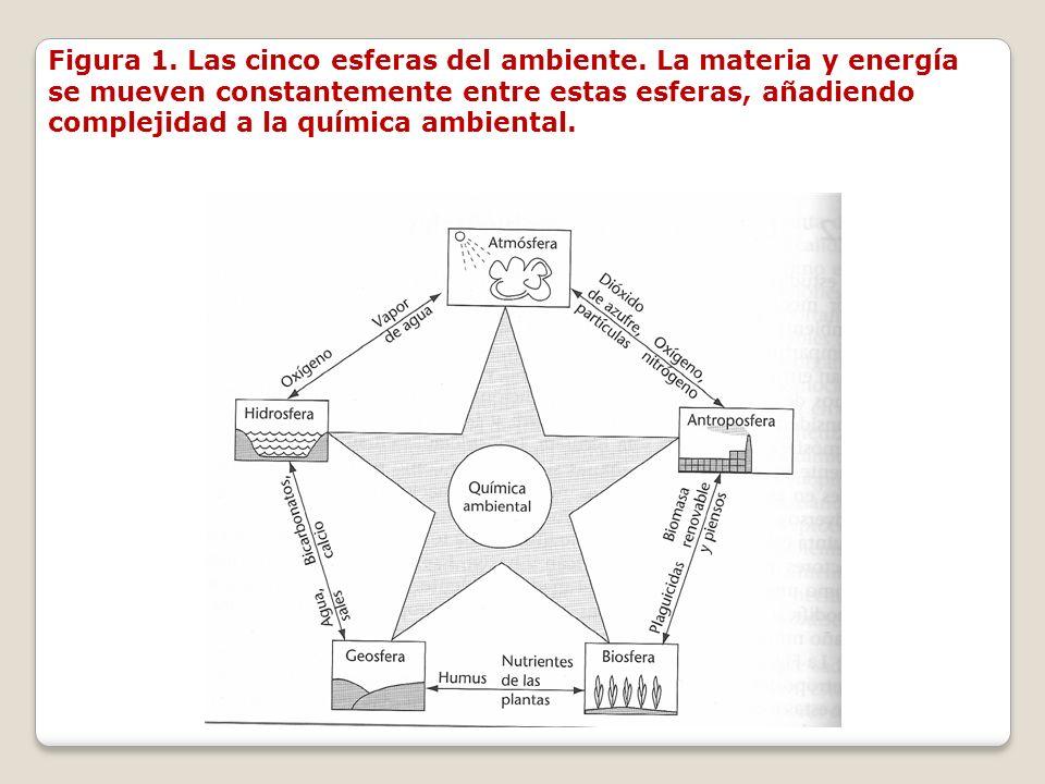 Figura 1. Las cinco esferas del ambiente
