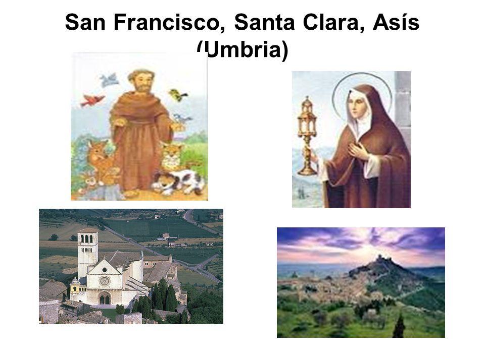 San Francisco, Santa Clara, Asís (Umbria)