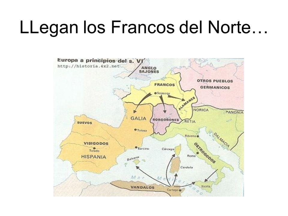 LLegan los Francos del Norte…