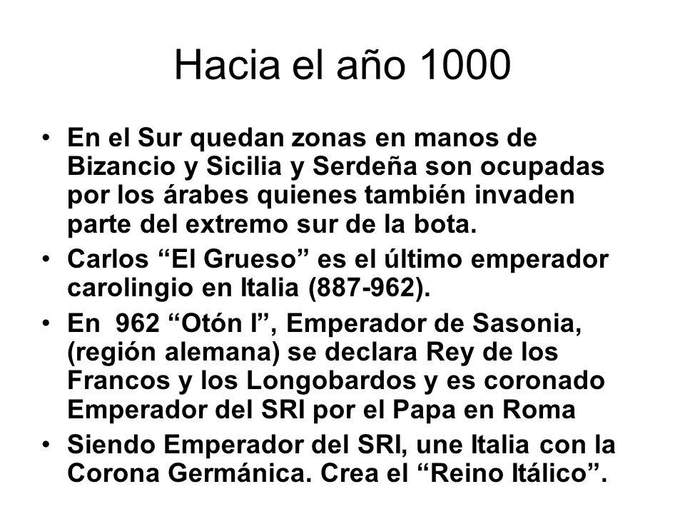 Hacia el año 1000