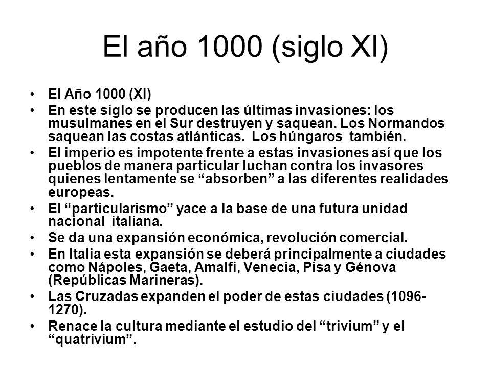 El año 1000 (siglo XI) El Año 1000 (XI)