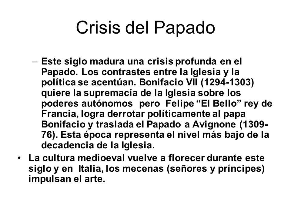 Crisis del Papado