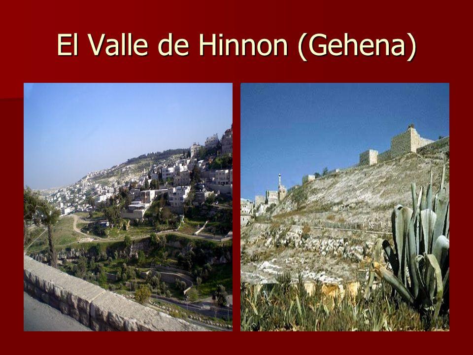 El Valle de Hinnon (Gehena)