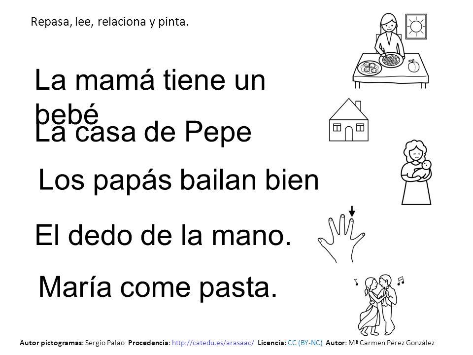 La mamá tiene un bebé La casa de Pepe Los papás bailan bien