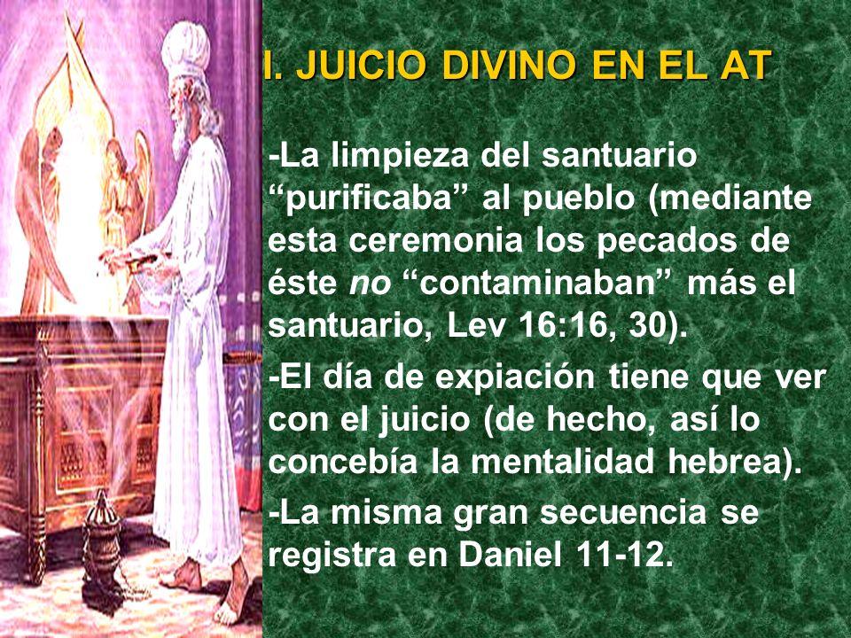 I. JUICIO DIVINO EN EL AT