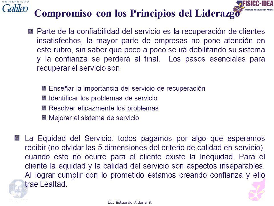 Compromiso con los Principios del Liderazgo