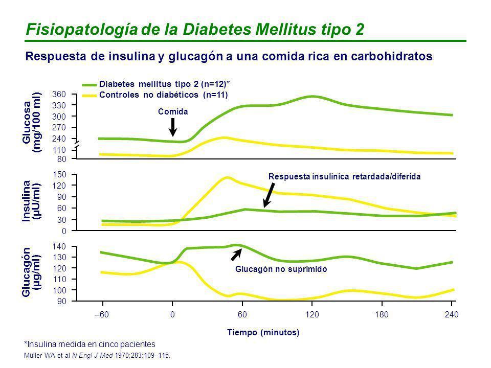 Respuesta insulínica retardada/diferida