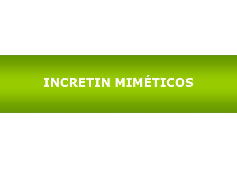 INCRETIN MIMÉTICOS