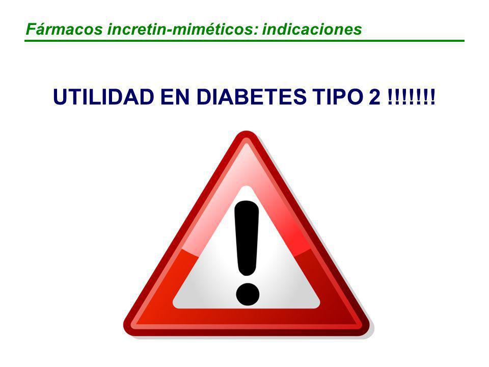 UTILIDAD EN DIABETES TIPO 2 !!!!!!!