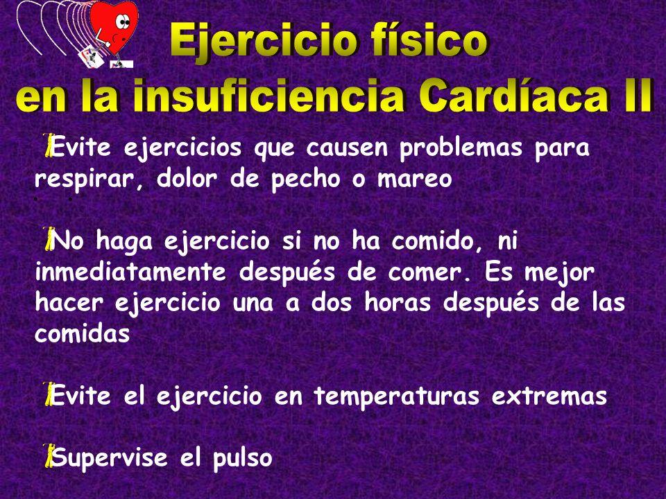 en la insuficiencia Cardíaca II