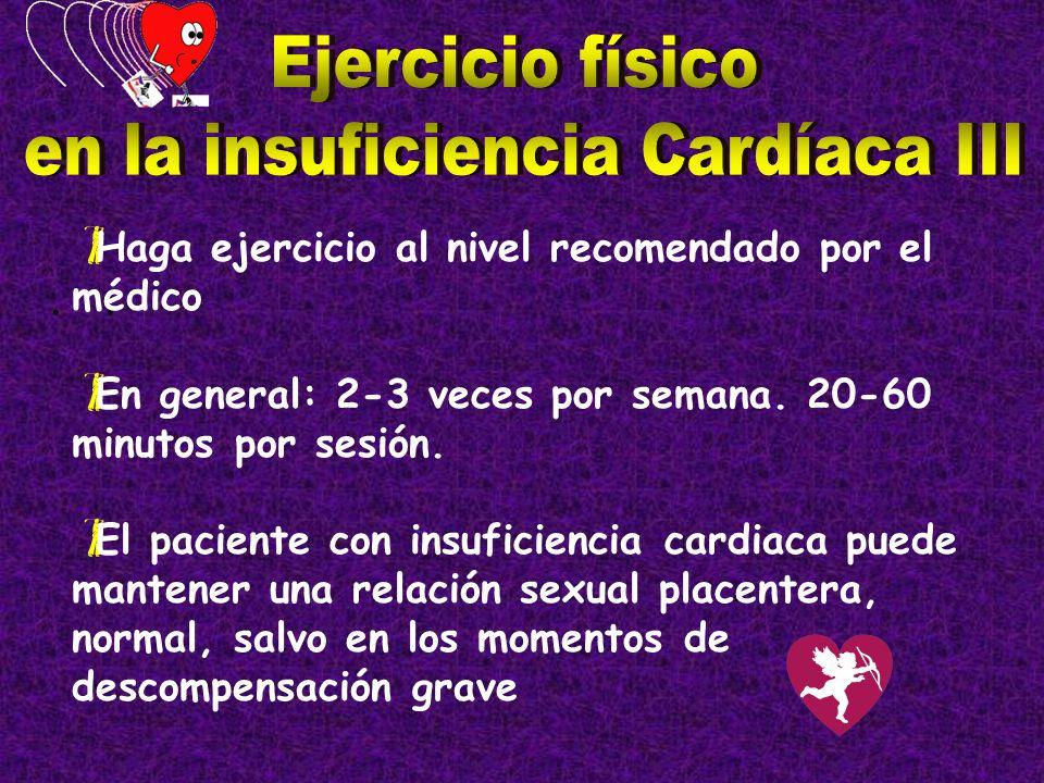 en la insuficiencia Cardíaca III