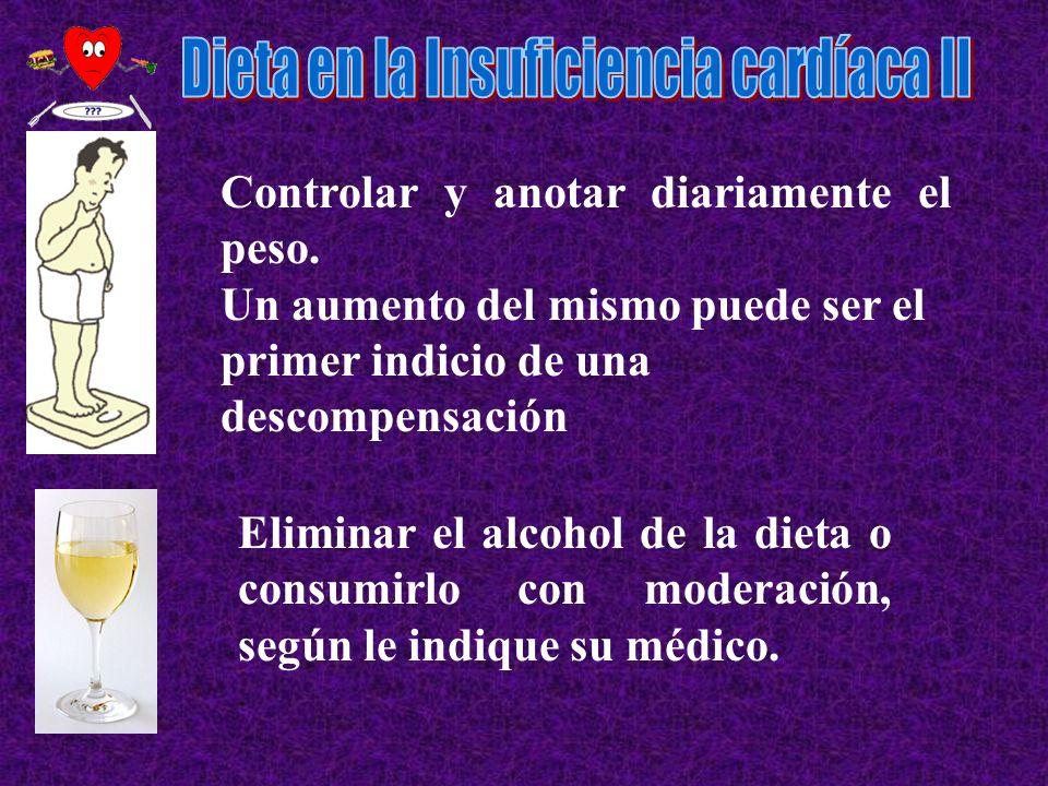 Dieta en la Insuficiencia cardíaca II