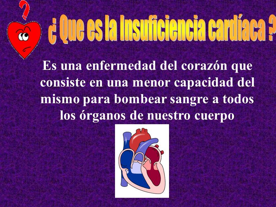 ¿ Que es la Insuficiencia cardíaca