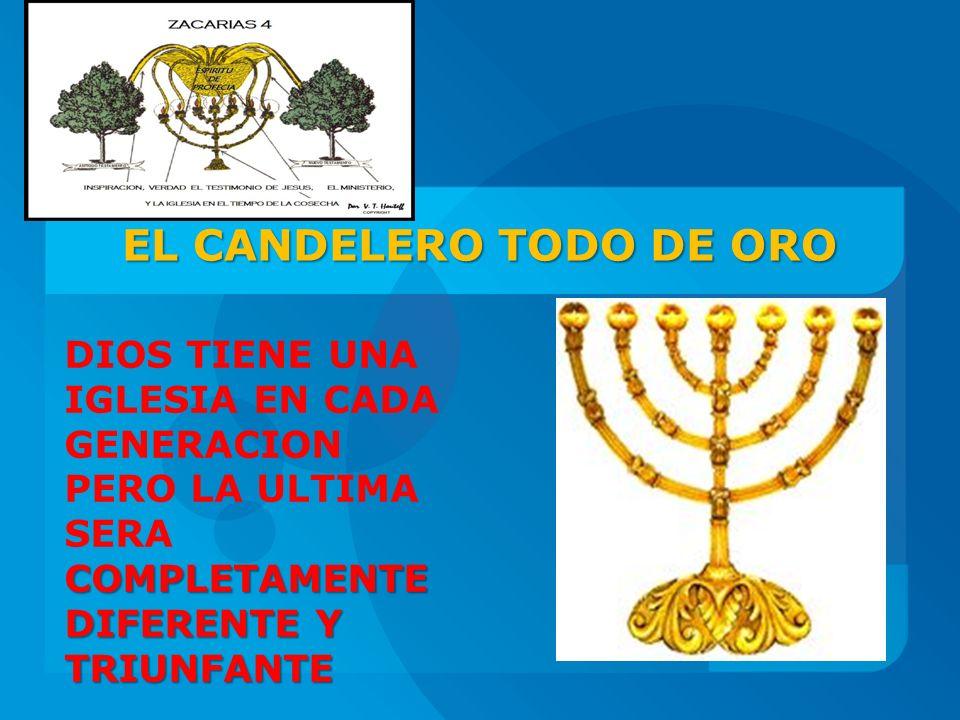EL CANDELERO TODO DE ORO