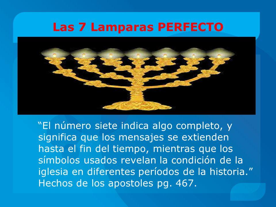 Las 7 Lamparas PERFECTO