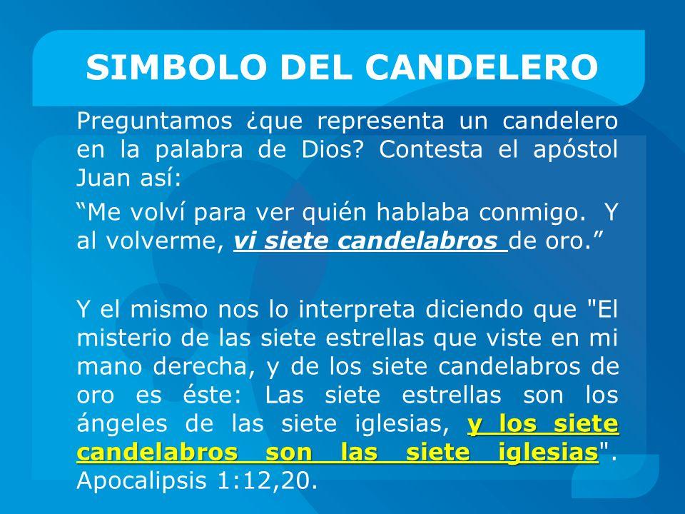 SIMBOLO DEL CANDELERO