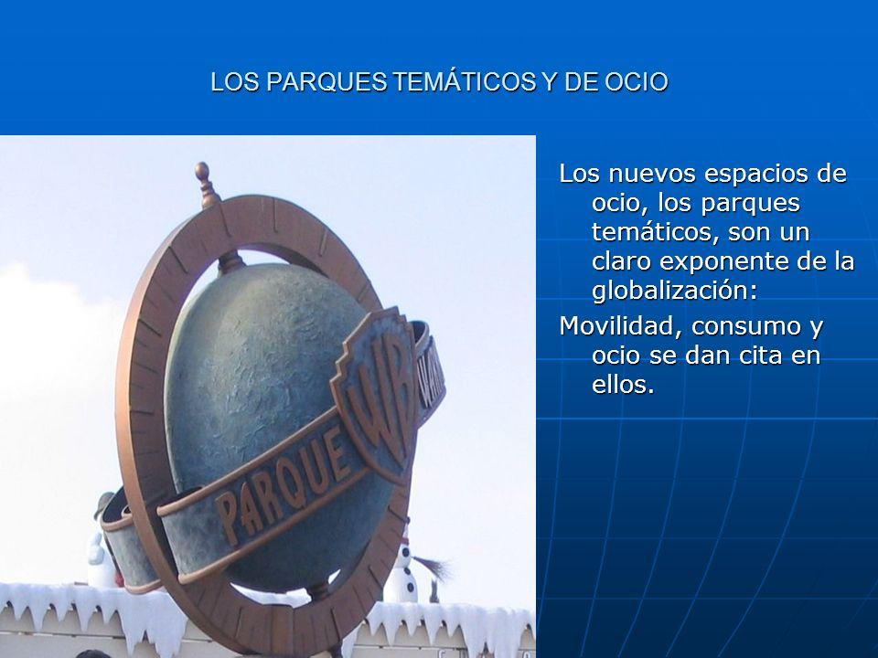 LOS PARQUES TEMÁTICOS Y DE OCIO
