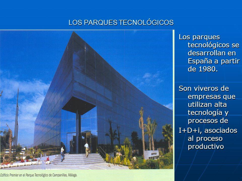 LOS PARQUES TECNOLÓGICOS