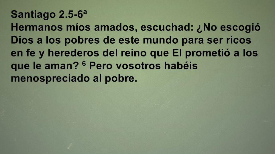 Santiago 2.5-6ª