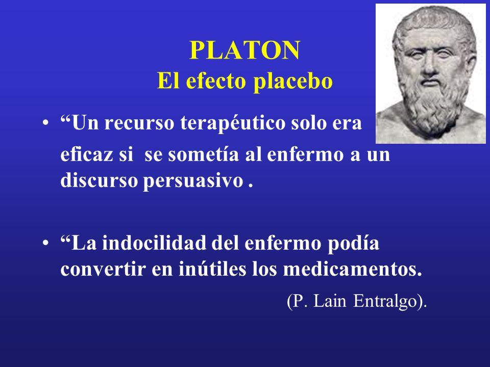 PLATON El efecto placebo