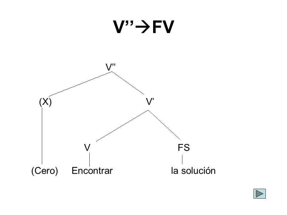 V''FV V'' (X) V' V FS.