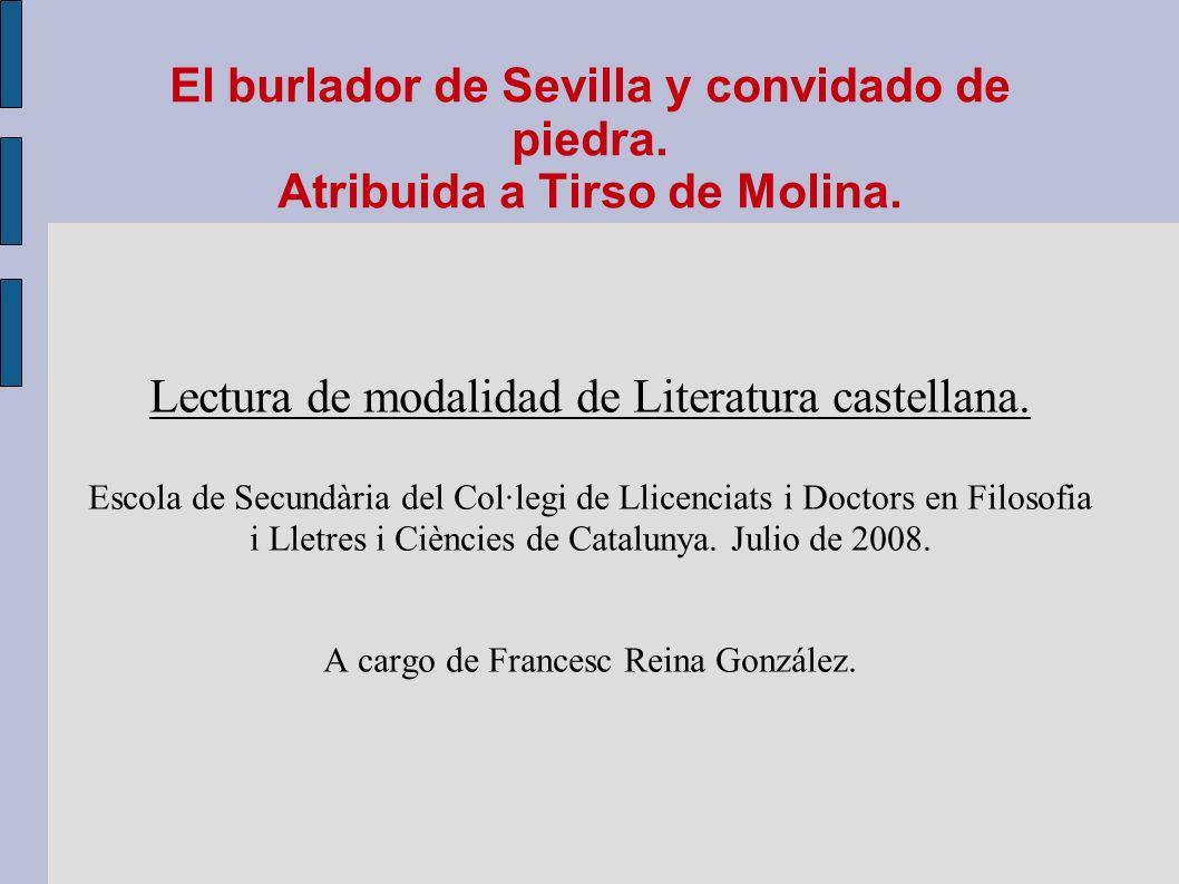 Lectura de modalidad de Literatura castellana.