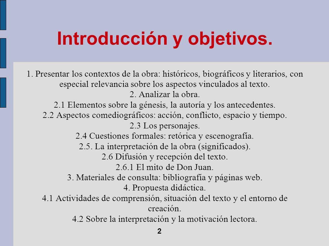 Introducción y objetivos.