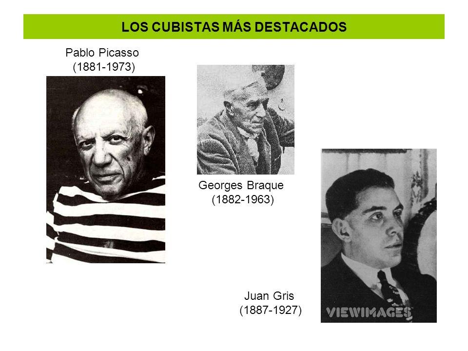 LOS CUBISTAS MÁS DESTACADOS