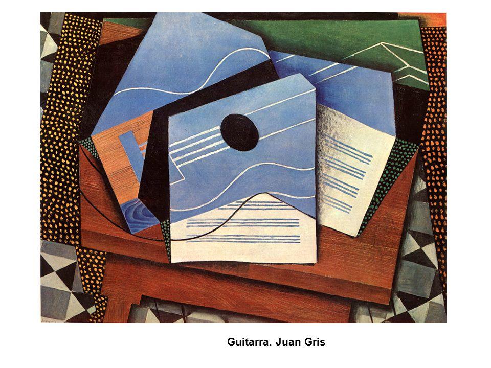 Guitarra. Juan Gris