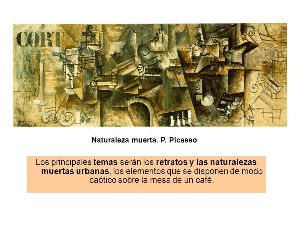 Naturaleza muerta. P. Picasso