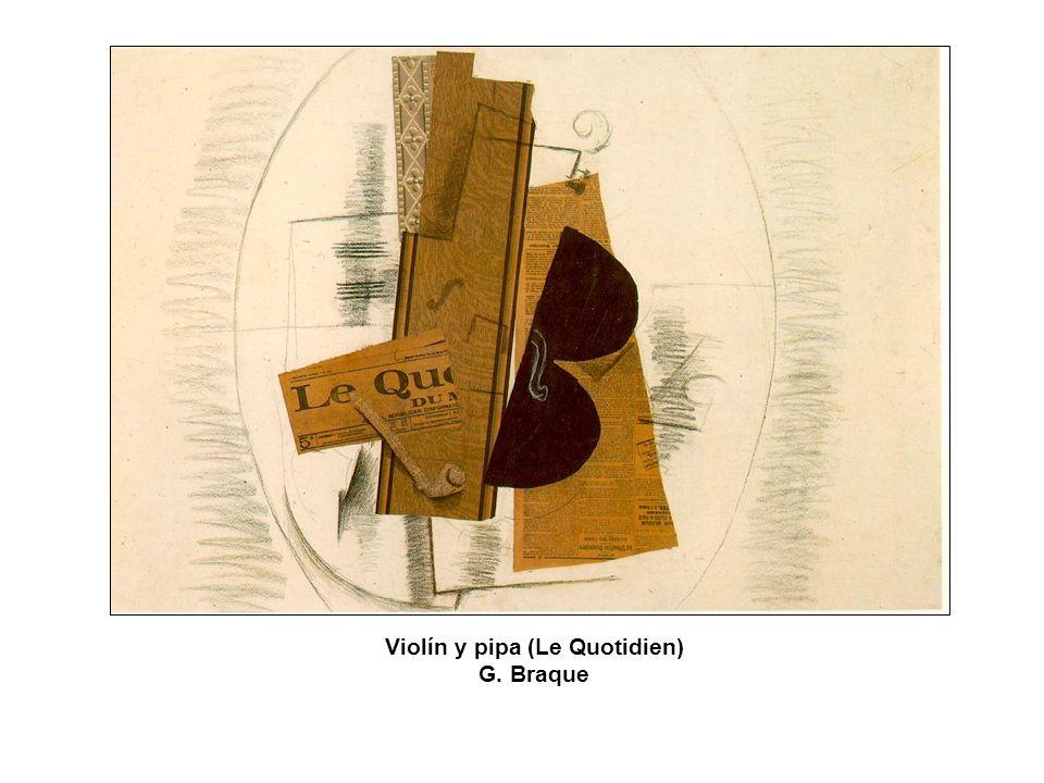 Violín y pipa (Le Quotidien)