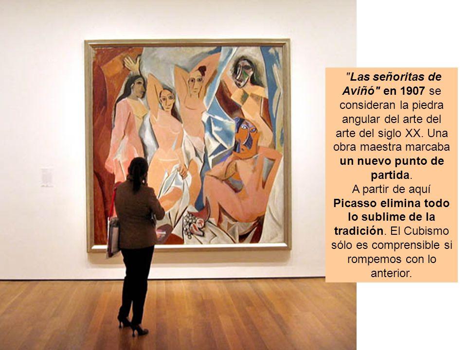 Las señoritas de Aviñó en 1907 se consideran la piedra angular del arte del arte del siglo XX. Una obra maestra marcaba un nuevo punto de partida.