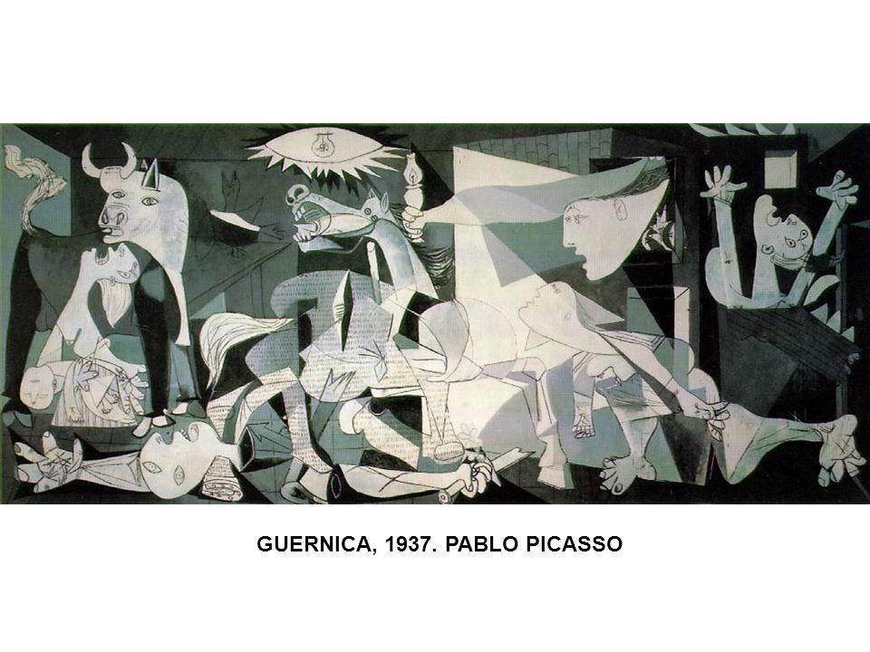 GUERNICA, 1937. PABLO PICASSO