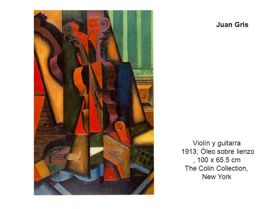 Violín y guitarra 1913; Óleo sobre lienzo