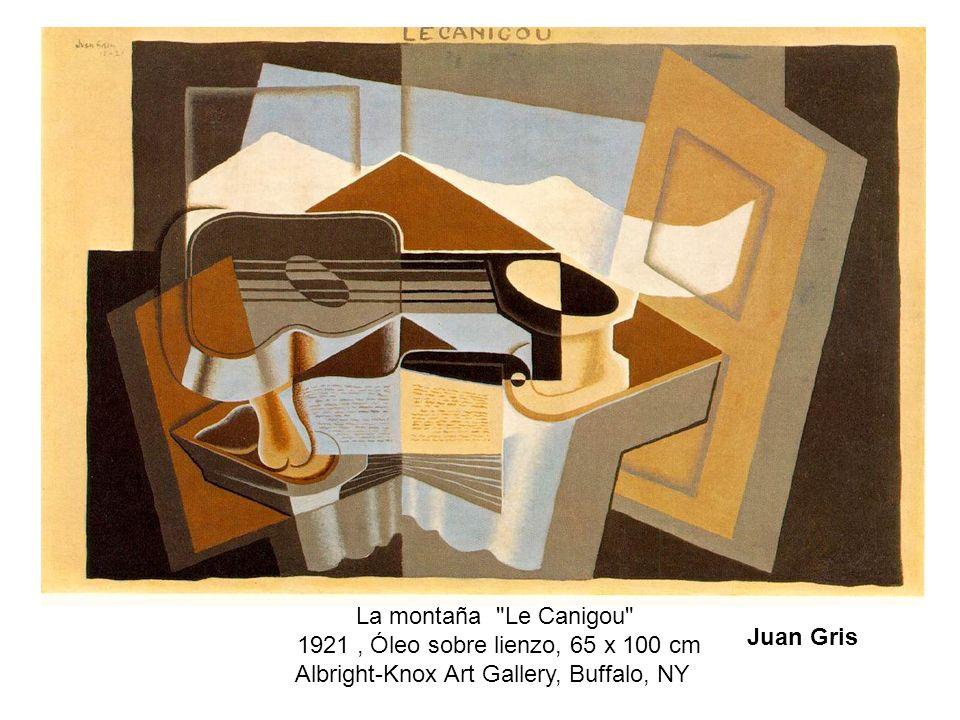 La montaña Le Canigou 1921 , Óleo sobre lienzo, 65 x 100 cm