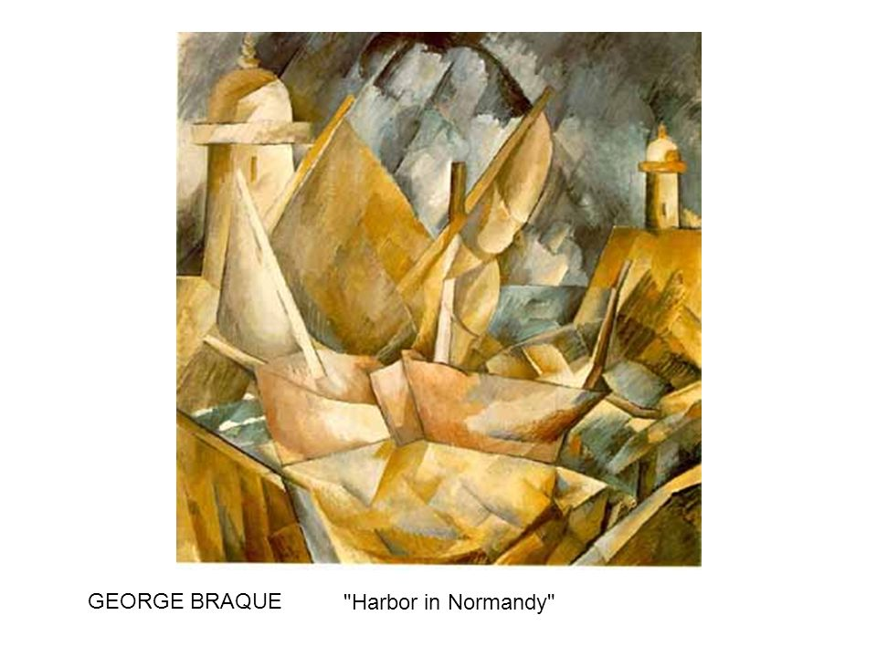 GEORGE BRAQUE Harbor in Normandy