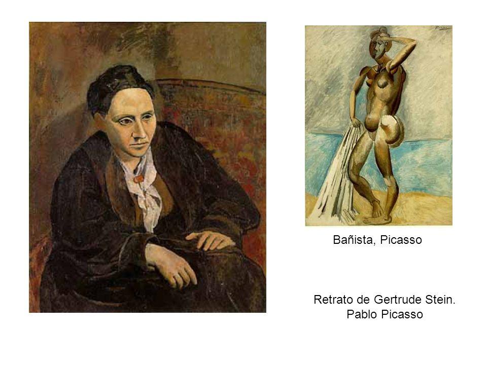 Retrato de Gertrude Stein.