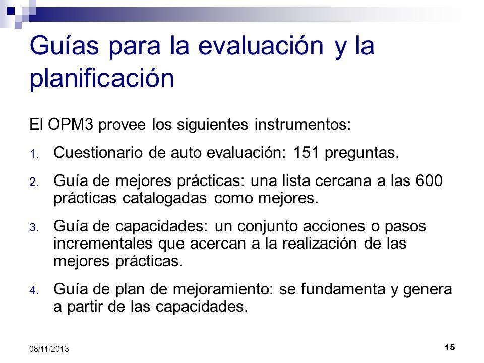 Guías para la evaluación y la planificación